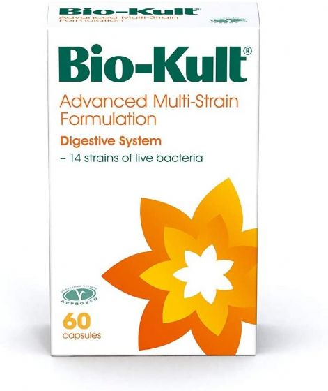 Bio-Kult Advanced Multi-Strain Bacterial Culture Formulation- Pack of 60 Capsules